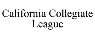 mark for CALIFORNIA COLLEGIATE LEAGUE, trademark #85575359