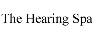 mark for THE HEARING SPA, trademark #85575497