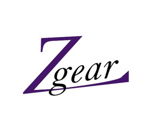 mark for ZGEAR, trademark #85575833