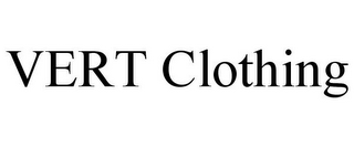 mark for VERT CLOTHING, trademark #85575895