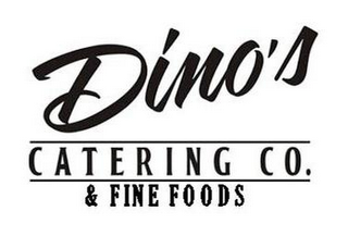 mark for DINO'S CATERING CO. & FINE FOODS, trademark #85575996