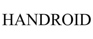 mark for HANDROID, trademark #85576326