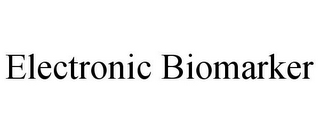 mark for ELECTRONIC BIOMARKER, trademark #85576448