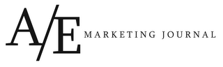 mark for A/E MARKETING JOURNAL, trademark #85576600