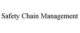 mark for SAFETY CHAIN MANAGEMENT, trademark #85576930