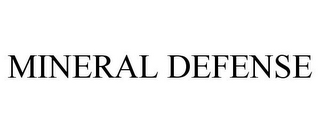 mark for MINERAL DEFENSE, trademark #85577517