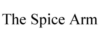 mark for THE SPICE ARM, trademark #85577588