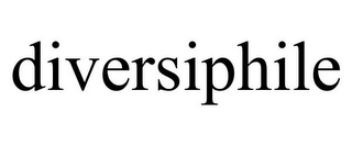 mark for DIVERSIPHILE, trademark #85577666
