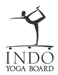 mark for INDO YOGA BOARD, trademark #85578084