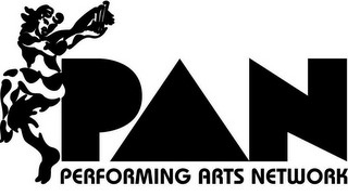 mark for PAN PERFORMING ARTS NETWORK, trademark #85578101