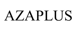 mark for AZAPLUS, trademark #85578182