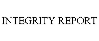 mark for INTEGRITY REPORT, trademark #85578496