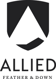 mark for ALLIED FEATHER & DOWN, trademark #85578965