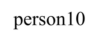 mark for PERSON10, trademark #85579167