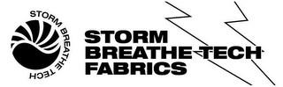 mark for STORM BREATHE TECH FABRICS, trademark #85579383
