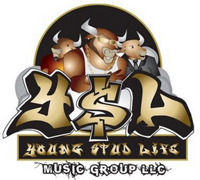 mark for Y$L YOUNG STUD LIFE MUSIC GROUP LLC, trademark #85579583