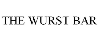 mark for THE WURST BAR, trademark #85579618