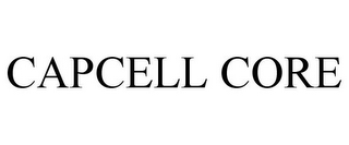 mark for CAPCELL CORE, trademark #85579810