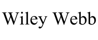 mark for WILEY WEBB, trademark #85580269