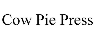 mark for COW PIE PRESS, trademark #85580306