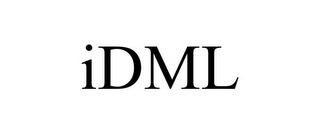 mark for IDML, trademark #85580472