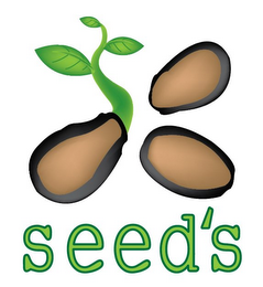 mark for SEED'S, trademark #85580517