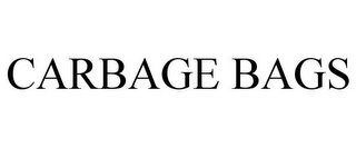 mark for CARBAGE BAGS, trademark #85580536