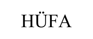 mark for HÜFA, trademark #85581042