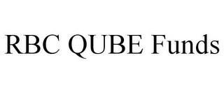 mark for RBC QUBE FUNDS, trademark #85581306