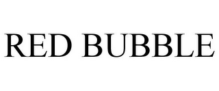 mark for RED BUBBLE, trademark #85581453