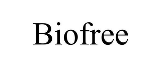 mark for BIOFREE, trademark #85581715