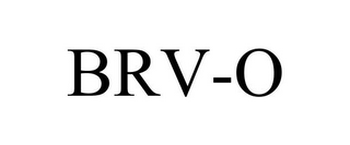 mark for BRV-O, trademark #85581851