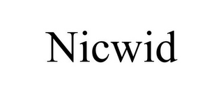 mark for NICWID, trademark #85581882