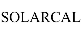 mark for SOLARCAL, trademark #85581981