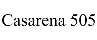 mark for CASARENA 505, trademark #85582021