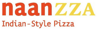 mark for NAANZZA INDIAN-STYLE PIZZA, trademark #85582186