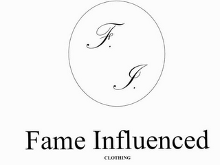 mark for F. I. FAME INFLUENCED CLOTHING, trademark #85582247