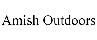 mark for AMISH OUTDOORS, trademark #85582261