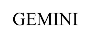 mark for GEMINI, trademark #85582424