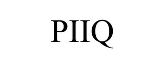 mark for PIIQ, trademark #85582438