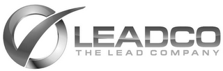mark for LEADCO THE LEAD COMPANY, trademark #85582536