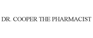 mark for DR. COOPER THE PHARMACIST, trademark #85582583