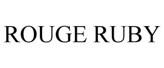 mark for ROUGE RUBY, trademark #85582640