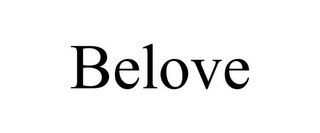 mark for BELOVE, trademark #85582722