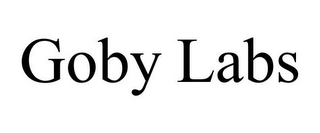 mark for GOBY LABS, trademark #85582743