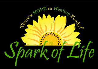 mark for SPARK OF LIFE THERE'S HOPE IN HEALING FOODS!, trademark #85582995