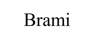 mark for BRAMI, trademark #85583307