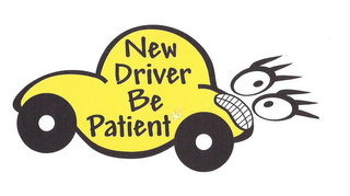 mark for NEW DRIVER BE PATIENT, trademark #85583462