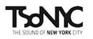 mark for TSONYC THE SOUND OF NEW YORK CITY, trademark #85583486