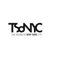 mark for TSONYC THE SOUND OF NEW YORK CITY, trademark #85583491